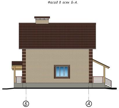 фасад Б-А